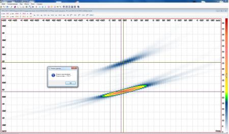 Функция измерения разницы фаз бликов в программе АВГУР-Анализ