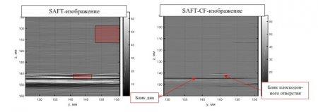 Использование коэффициента когерентности для повышения качества изображения отражателей при проведении ультразвукового контроля методом TOFD