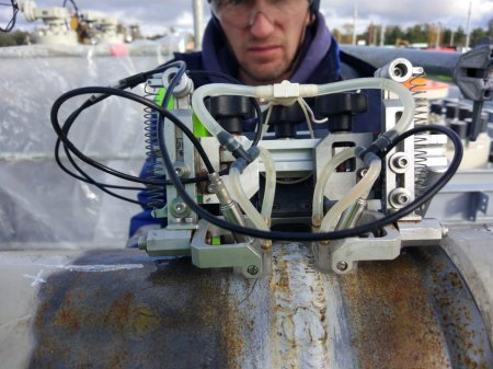 Выполнен ультразвуковой контроль трубопроводов берегового участка Северного Потока - 2