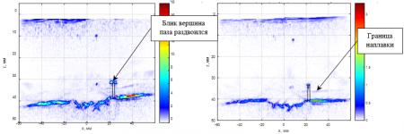 Повышение качества ЦФА-изображения отражателей за счёт применения антенной решетки с адаптивным протектором