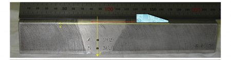 Учёт анизотропных свойств ремонтных заварок в трубопроводах Ду800